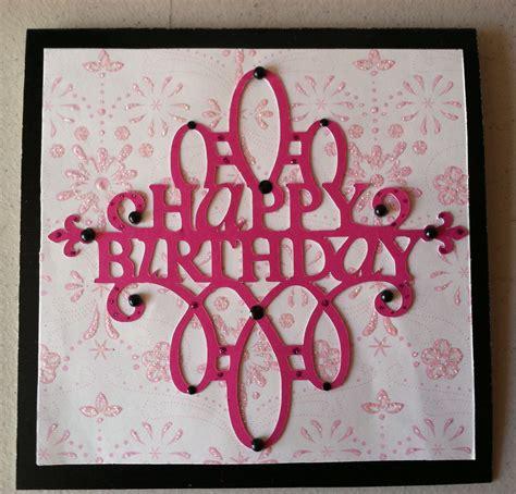 happy birthday card  cricut cards wall art