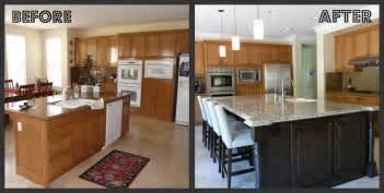 diy refacing kitchen cabinets ideas kitchen update with island makeover
