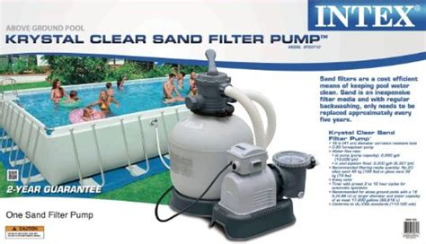 Intex 3,000-gallon Sand Filter Pump (discontinued By
