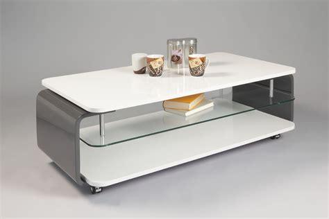 table basse chambre ophrey com table de salon bois et laque blanc