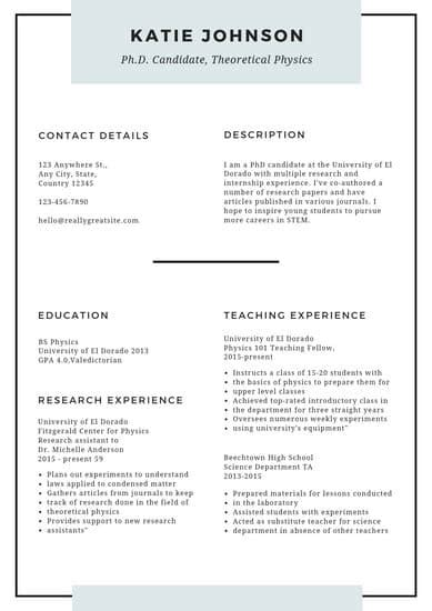Resume Templates To by Customize 1 314 Resume Templates Canva
