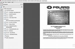 2007 Polaris Sportsman 700 800 800 X2 Efi 700  U0026 800 Twin Models Service Repair Shop Manual