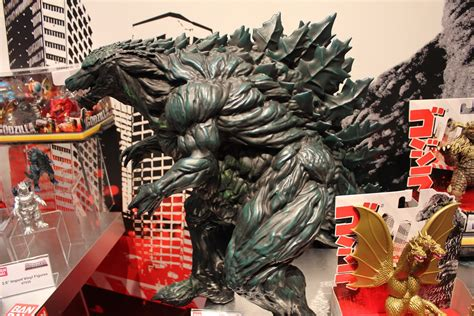 bandai  toy fair dragon ball  godzilla disney