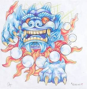 Foo Dog by crazieburd on DeviantArt