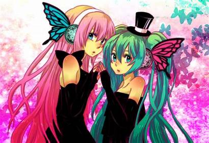 Luka Miku Vocaloid Hatsune Anime Megurine Magnet