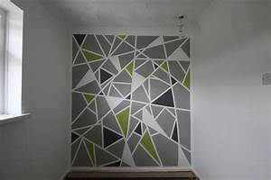 Painting A Design On A Wall