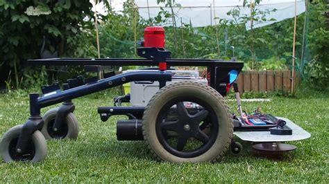 rc diy lawn mower youtube