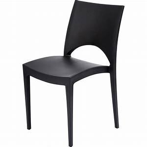 Chaise Leroy Merlin : chaise de jardin en r sine paris green anthracite leroy ~ Melissatoandfro.com Idées de Décoration