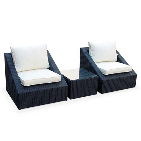 chaise de jardin hesperide stunning salon de jardin resine tressee gris bora bora
