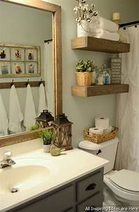 Uncategorized 34 decorating ideas for bathrooms for What kind of paint to use on kitchen cabinets for metal bathtub wall art