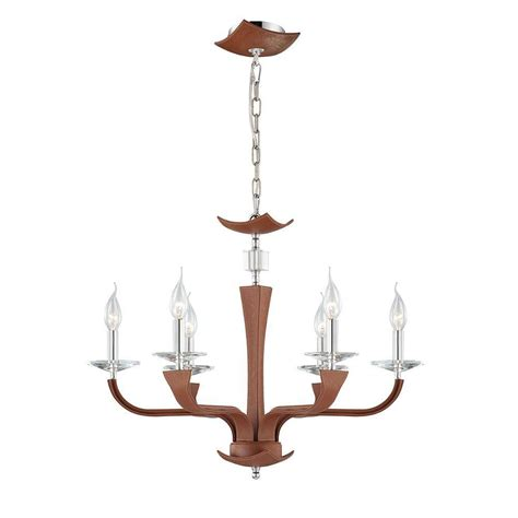 brown chandelier filament design montanari 6 light java brown chandelier