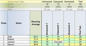 Custom Chart In Excel 2007 Best Free Excel Gradebook Templates For Teachers