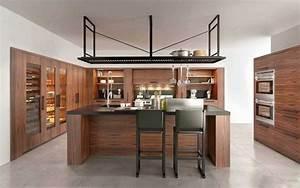 11 modeles de cuisine en bois moderne consobricocom With cuisine moderne en bois