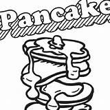 Coloring Ihop Pancakes Fun Pancake Things sketch template