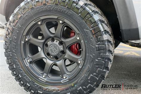 toyota tacoma   black rhino glamis wheels