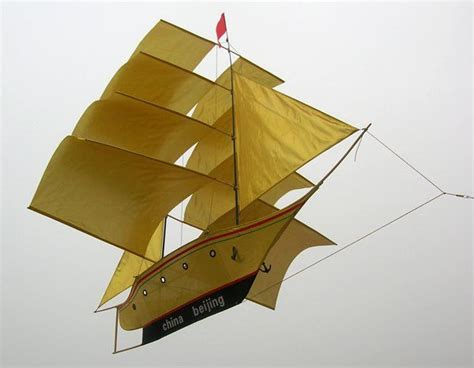 Sailing Boat With Kite by Amazing Boat Kite Kites To Fly Pinterest Products