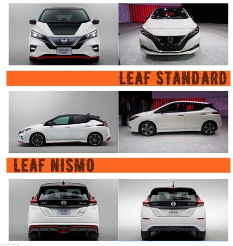 nissan leaf nismo  standard price release specs