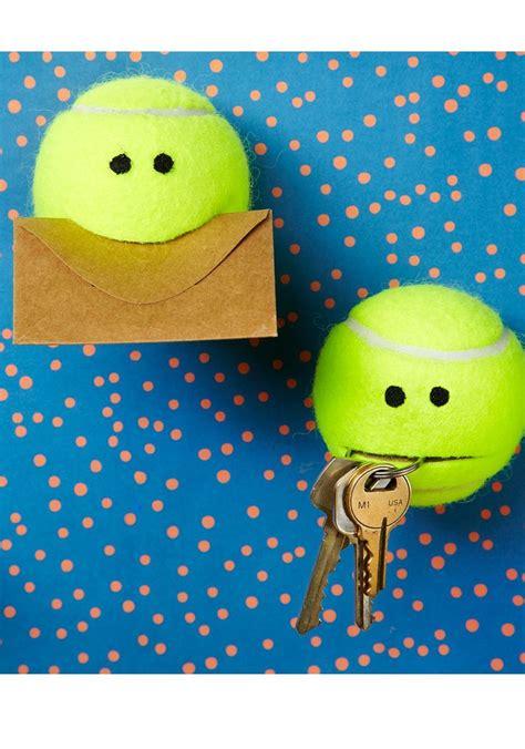 creative  tennis balls   super cute diy