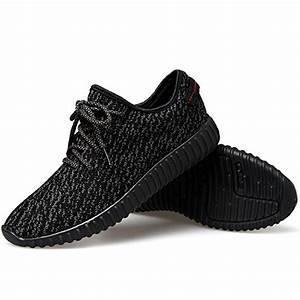 JACKSHIBO Men Casual Fashion Sneakers Breathable Athletic ...