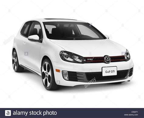 volkswagen car white white 2011 volkswagen golf gti isolated car with clipping