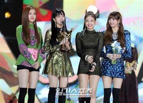 black pink golden disk awards blink