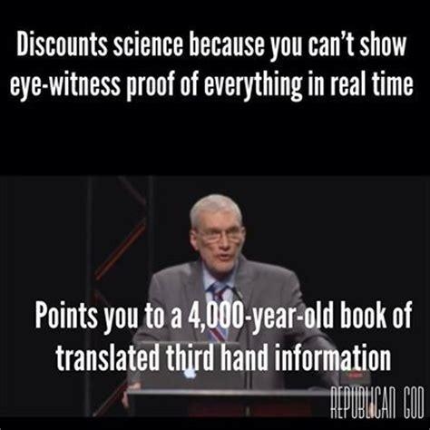 Ken Ham Meme - atheism religion god is imaginary the bible