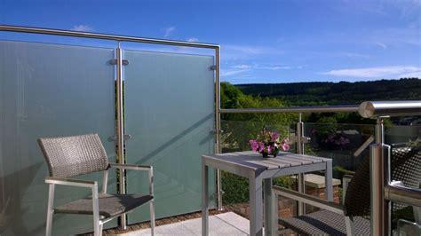 privacy screen glass balustrade
