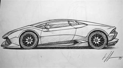 lamborghini sketch drawn lamborghini lamborghini huracan pencil and in