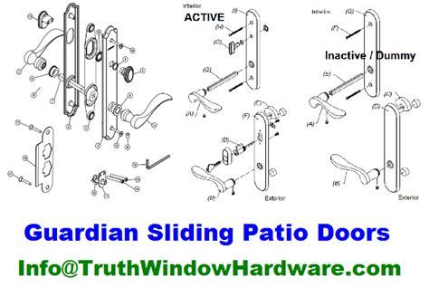 guardian repair service parts window patio door replacement parts guardian sliding patio