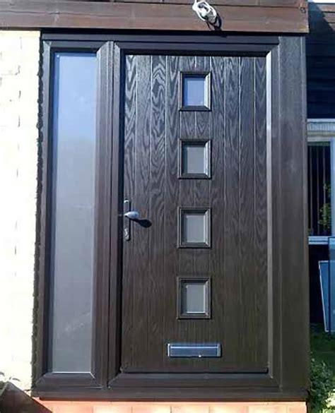 composite door side panels