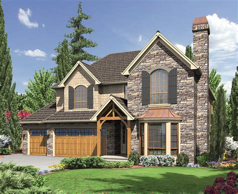 English Cottage Style Home Plan