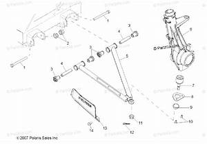 Polaris Side By Side 2008 Oem Parts Diagram For Suspension