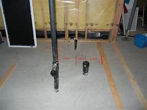 Plumbing - Basement Bathroom Rough-in Configuration