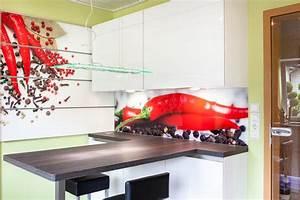Küchenrückwand Glas Foto : k chenr ckwand und wandpaneelsystem aus glas individuell ~ Michelbontemps.com Haus und Dekorationen