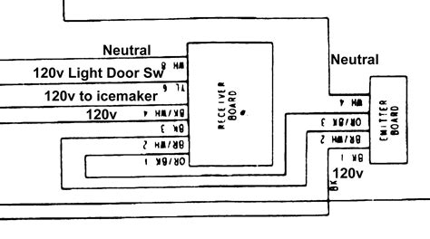 Frigidaire Ice Maker Wiring Diagram Electrical Website