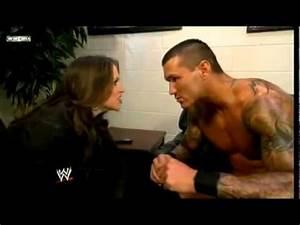 Stephanie McMahon and Randy Orton 2009 - YouTube
