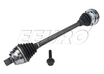 audi axle assembly front driver side new gsp axle ncv23001 fast shipping available