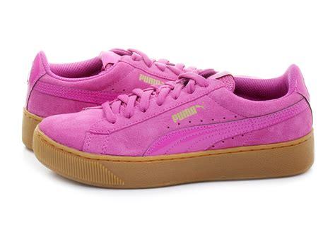 puma shoes puma vikky platform  pnk