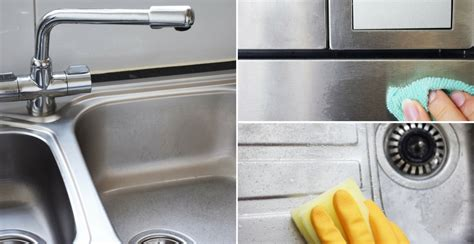 kitchen sink cleaning tips how to clean stainless steel sinks counters appliances 5677