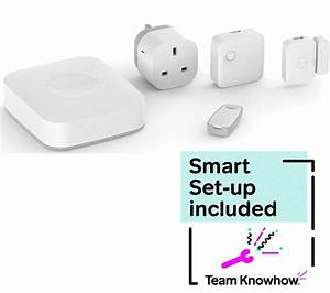 KNOWHOW SmartThings Starter Kit & Smart Home Installation ...