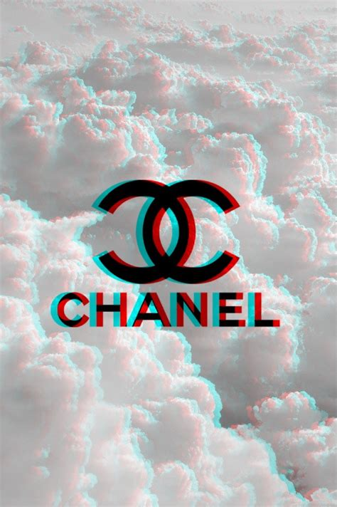 chanel   heart  chanel   chanel background