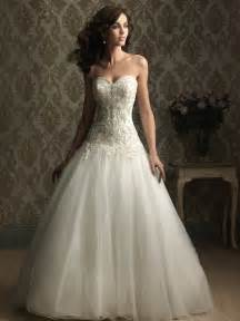 a line wedding gown with sweetheart neckline ipunya - Sweetheart Wedding Dresses