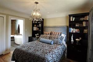 Above Bookcase Lighting Master Bedroom Contemporary Bedroom Vancouver By