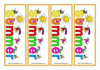 spring bookmarks printable