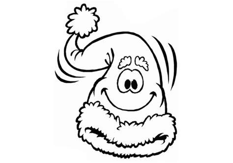 Kleurplaat Hoed Sneeuwman by Kerst Kleurplaten Kerst Kleurplaat Sneeuwpop Muts