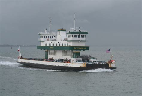 Boat R Galveston Tx by Galveston Island Ferry Flickr Photo