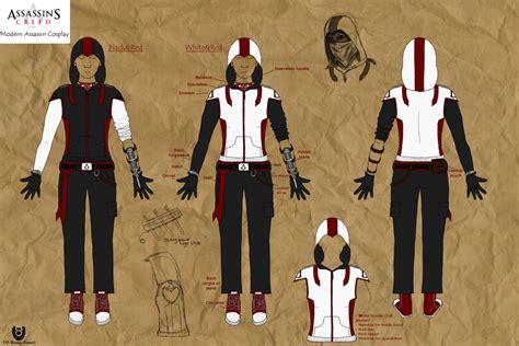 modern assassins creed costume modern assassin designs by nightcur on deviantart