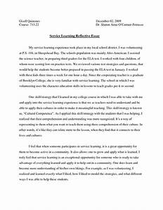 reflective essay on language learning
