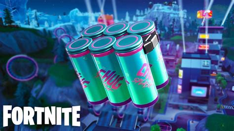 fortnite  update patch notes chug splash boom bow