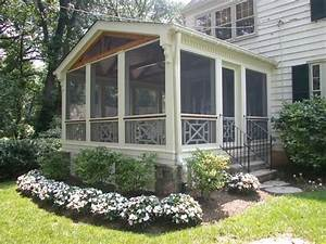 Lattice Screen Porch - WoodWorking Projects & Plans